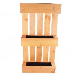 aixstore dekorativer pflanzturm 3er planzregal planztrog blumenkasten kr uterbeet dkw8. Black Bedroom Furniture Sets. Home Design Ideas