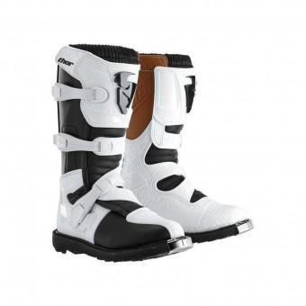 Thor Blitz Damen Motocross Stiefel (White,5)