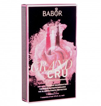 BABOR GRAND CRU Anti Aging Kur Ampullen 7x 2ml The Rose / The White / The Black