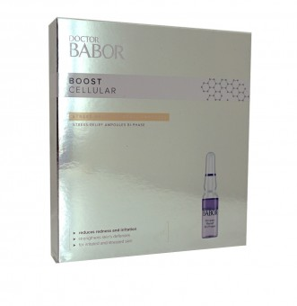 DOCTOR BABOR - BOOST CELLULAR - Stress Relief Bi-Phase Ampoules