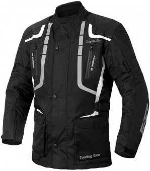 Bogotto Touring Evo Motorrad Textiljacke (Black,XL)