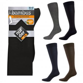 NUR DER 3|6|9 Bambus Knie Socken Strümpfe Gr. 39-46