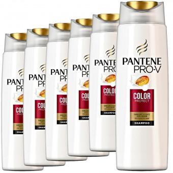 6er Set PANTENE Pro V Colour Protect Shampoo Haarpflege für coloriertes Haar