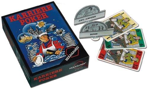 KARRIERE POKER Kartenspiel Spiel NSV 4-8 Spieler Partyspiel