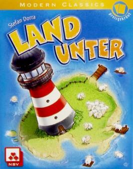 LAND UNTER Kartenspiel Spiel NSV 3-5 Spieler