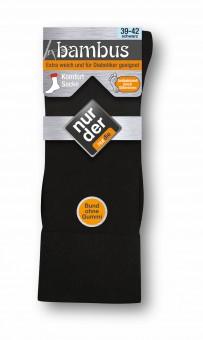 NUR DER 3|6|9|12 Bambus Komfort Socken Strümpfe Herren Gr. 39-48