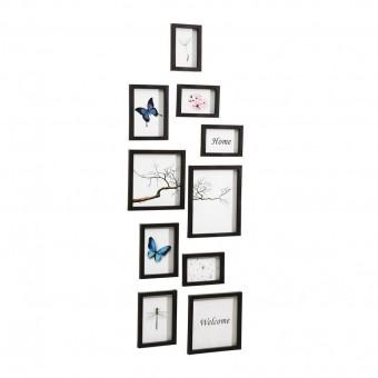 Nielsen Design 10er Set Bilderrahmen Kunststoff Wechselrahmen Kunststoff