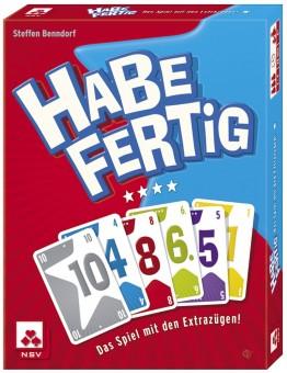 HABE FERTIG Kartenspiel Spiel NSV 2-4 Spieler ab 8 Jahren Gesellschaftsspiel