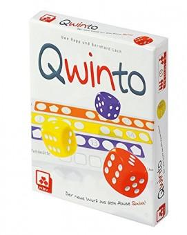 QWINTO Würfelspiel Spiel NSV 2-6 Spieler 8+ Würfeln Lernspiel
