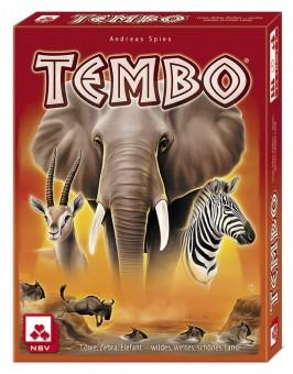 TEMBO Kartenspiel Spiel 2-4 Spieler 8+ NSV 4046