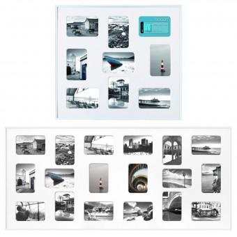 NIELSEN PIXEL 9/18 Collage-Rahmen Bilderrahmen für 9/18 Fotos 10x15cm
