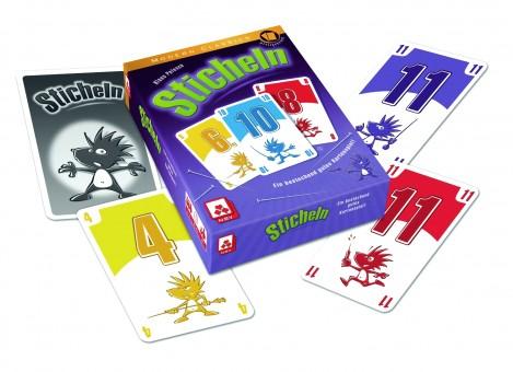 STICHELN Kartenspiel Spiel NSV 3-5 Spieler ab 10 Jahre *SPIEL TIPP*