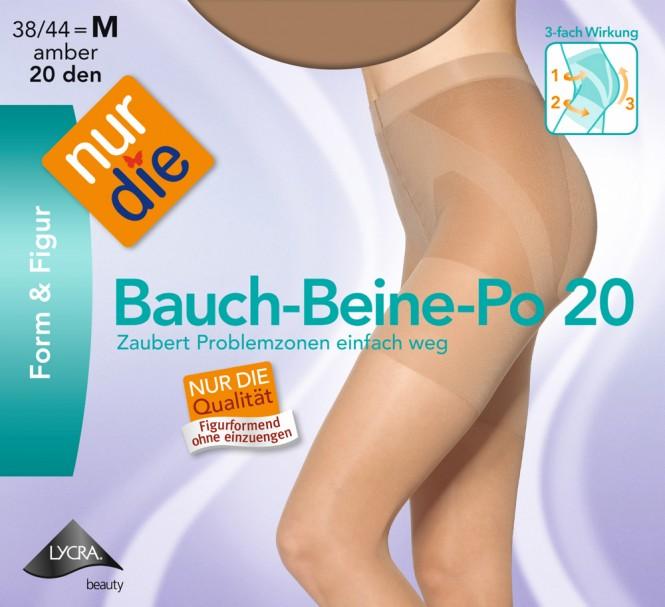 NUR DIE Bauch-Beine-Po 20 Form & Figur Fein Strumpfhose Damen Gr. 38-48