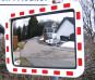 Verkehrsspiegel Sicherheitsspiegel Spiegel Ausfahrt Parkplatz etc. 60x40 | 80x60cm